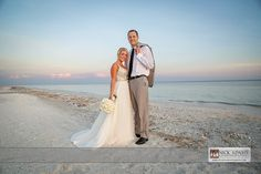 Beach destination Sanibel Island wedding photography