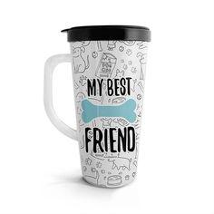 Vasito viajero – My best friend, encuentra este producto en nuestra tienda online. Mugs, Tableware, Vase, Store, Dinnerware, Tumblers, Tablewares, Mug, Dishes