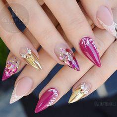 Luxury Feels  @gfa_australia FW178 @glitter_heaven_australia glits and glamour  @uglyducklingnails cover pink/matte top