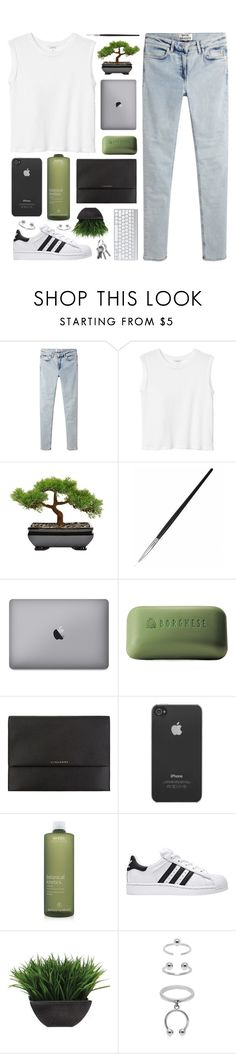 """""""Happy Australia Day!"""" by sewing-girl ❤ liked on Polyvore featuring Acne Studios, Monki, Borghese, Burberry, Incase, Aveda, Lux-Art Silks and Maria Francesca Pepe"""