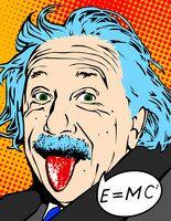 Pop Einstein by Colorium