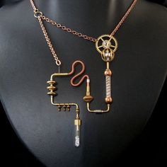 tumblr_mhgsfs2lne1qzw464o1_500.jpg 500×500 pixels Steampunk necklace