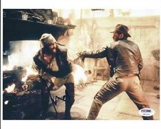 Harrison Ford Indiana Jones Signed 8X10 Photo #U01273 - Psa/Dna Certif @ niftywarehouse.com #NiftyWarehouse #IndianaJones #GeorgeLucas #HarrisonFord #Movies
