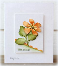 CAS272 The Best by Biggan - Cards and Paper Crafts at Splitcoaststampers
