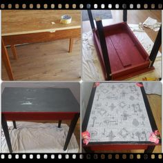 The story of a table...from old to New