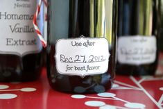 Gifts From the Kitchen Homemade Vanilla Extract