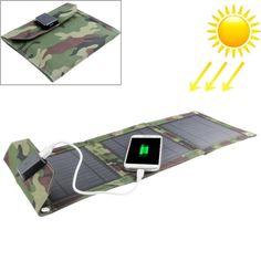 [$20.73] 7W Portable Folding Solar Panel / Solar Charger Bag for Laptops / Mobile Phones