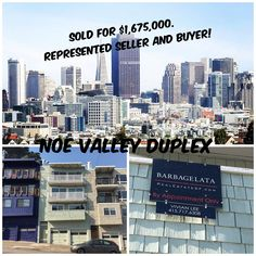 Noe Valley 2-Unit Investment Property. Listed for $1,598,000. SOLD for $1,675,000. Represented BOTH Seller and Buyer! 1408-1410 Noe Street, San Francisco, CA 94131. For more information, contact me today: VIVIAN LEE Realtor Barbco Real Estate Group (415) 717.6308 Vivian@VivianLeeSF.com VivianLeeSF.com Lic. # 01342994