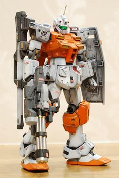 GUNDAM GUY: HGUC 1/144 Power GM - Customized Build