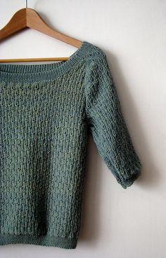 Ravelry: TouchMeNot's Raindrop blouse.