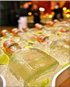 Tequila PATRON -- my favorite!!!
