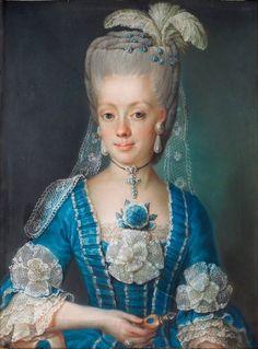 Anna Maria Åbrandt by Gustaf Lundberg 1775