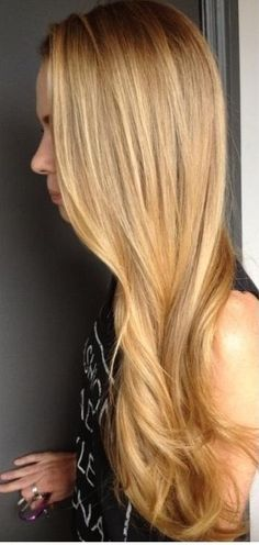 honey blonde highlighting