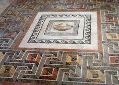 Mosaic at Domus Romana, Rabat, Malta