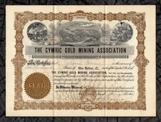 Inc Stock Certificate Tonopah Extension Mines
