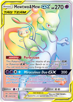 Mewtwo & Mew GX (Secret) - SM - Unified Minds, Pokemon - Online Gaming Store for Cards, Miniatures, Singles, Packs & Booster Boxes Mew Pokemon Card, All Pokemon Cards, Pokemon Cards Legendary, Pokemon Trading Card, Original Pokemon Cards, Pokémon Mewtwo, Giratina Pokemon, Charizard, Pokemon Cards