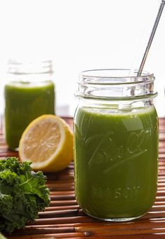 This Green Monster is great for getting your healthy eating back on track after a series of indulgences. It sets your day on the right tone and instantly makes you feel ah-mazing.Oh-She-Glows