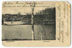 Leppävirta, Laivaranta, Finland. Lähetetty 1905.