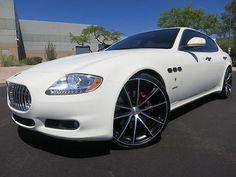 2009 Maserati Quattroporte S 4.7 Executive GT Package Heated/Cooled Seats Custom 22 Whls 2008 2010 2011 2012