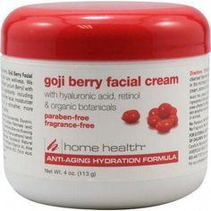 Home Health Goji Berry Facial Cream Fragrance Free -- 4 oz Best Nursing Schools, Nursing Jobs, Emergency Room Nurse, Acne Control, Home Health Care, Facial Cream, Anti Aging Skin Care, Berries, Fragrance