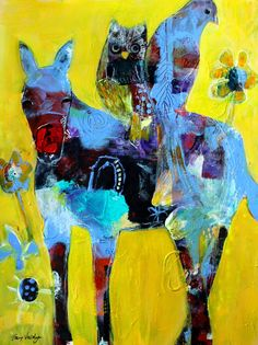 Tracy Verdugo. 2014. Faith on the Journey. Acrylic on paper. sold.