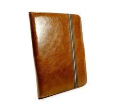 Tuff-Luv Alston Craig Vintage Leather Case Cover for Samsung Galaxy Tab 4 10.1