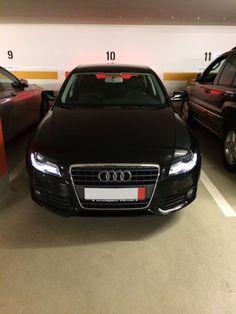 Audi A4 B8 #black #beauty