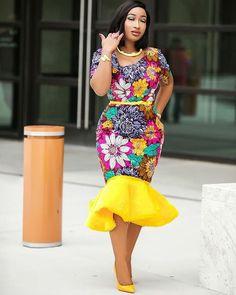 African print dress,african clothing for women, ankara pencil dress,african dres. from Diyanu - Ankara Dresses, Shirts & African Dresses For Women, African Print Dresses, African Attire, African Wear, African Outfits, African Prints, African Style, African Women, African American Fashion