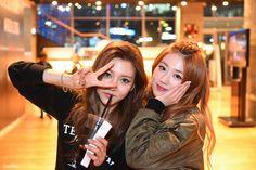 [16.03.03] 엠카운트 퇴근길 - 4TEN Yun & Hyejin