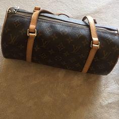 Authentic Cylinder Louis Vuitton Handbag Good Conditon! Louis Vuitton Bags Shoulder Bags