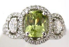 Amazing Diamond and Chrysoberyl Ring  @LarcJewelers #larcjewelers
