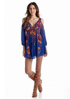 Free People Penny Lover Mini Dress