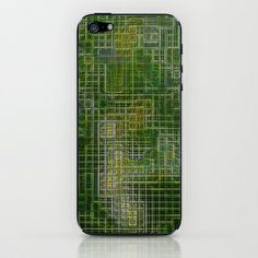 Re-Created Matrix No. 22 #iPhone & #iPod #Skin by #Robert #S. #Lee - $15.00