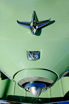 1951 Studebaker Commander Hood Ornament by Jill Reger.  I would love own this....AND the car that goes with it.