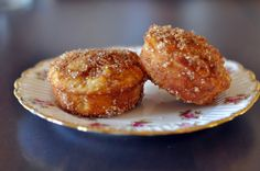 Sophie Loves Food: Recipe: Cinnamon Apple Duffins (Doughnut Muffins)