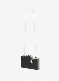 f8d8c62b36 Silhouette clutch bag - View all - Bags - Uterqüe United Kingdom Unique Bags