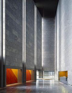 National Bank | Arne Jacobsen. Copenhagen, Denmark. 1958