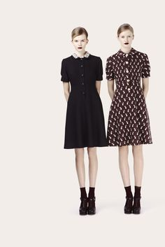 Orla Kiely lookbook for Autumn Winter 12