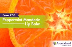Make Your Own: My Favorite Lip Balm Recipe from Aromahead Institute! I am in LOVE! Is it okay to love a lip balm?