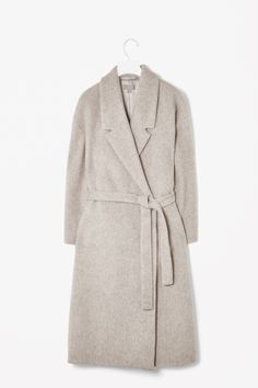 Wool mohair coat by COS