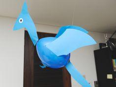 画用紙で作った恐竜風船|恐竜テーマのバースデーパーティー|ARCHDAYS