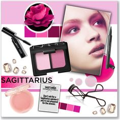 Sagittarius: The Zodiac Collection by naomi8417 on Polyvore featuring polyvore beauty NARS Cosmetics Paul & Joe Bobbi Brown Cosmetics Chanel Eve Snow Accessorize vintage