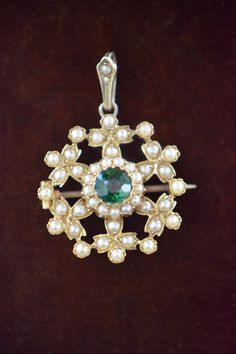 Edwardian Jewelry, Green Tourmaline, Shades Of Green, Compassion, Floral Design, Seeds, Happiness, Sparkle, Feminine