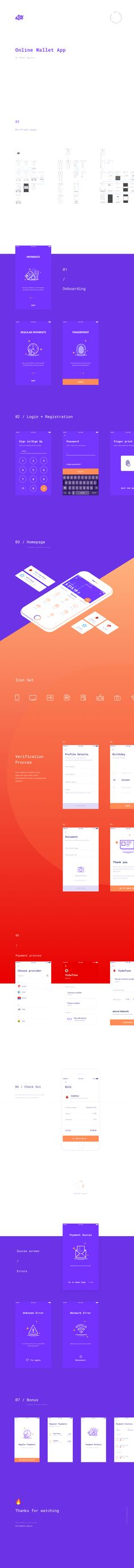 Pay & Go Wallet App on Behance