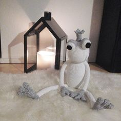 """We enjoy our romantic evening here with this beautiful LightHouse from @normanncph ❄️❄️ #leggybuddy #groggyfroggy #normanncopenhagen #interiors #interiordesign #homedecoration #cool #nordic #whitewinter #candlelight #style #styling #fun #kidsroom #nursery #design #productdesign #toy #crochet #crochettoy #luxury #handmade #lightning #lighthouse #barnrum #bamser #royal #prince #frogprince #alittlevignette"" Photo taken by @leggybuddy on Instagram, pinned via the InstaPin iOS App…"