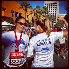 I run for animals!