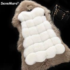 Envío Gratis 2016 Abrigo de Invierno mujeres de la Manera Caliente Outwear Delgada de Imitación Chaleco de Zorro de Piel De Invierno Chaleco Chaqueta Más tamaño