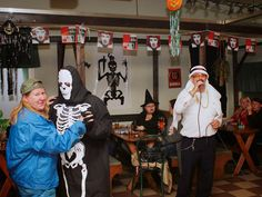 The saddest Halloween party ever?