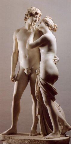 Antonio Canova - Venere e Adone  (Venus and Adonis) (1794) Musée d'Art et d'Histoire, Ginevra