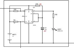 64 Best 555 Timer Circuits Images Circuits Circuit Diagram